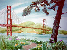 Golden Gate Bridge by Elizabeth Kavaler